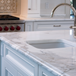 Calacatta Gold Marble Counter Top