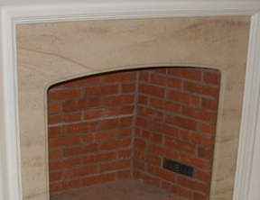 Fireplace with Beumanier Limestone